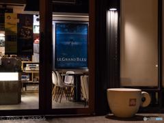LE GRAND BLEUなお店。