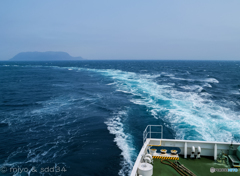 桜前線を追いかけて海峡を渡りました。