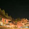 永源寺で観た冬の星空