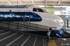 走り出したら止まらないぜ!(京都鉄道博物館)