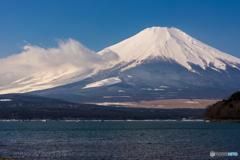 富士に龍雲