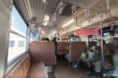 由利高原鉄道 矢島駅 停車中の小景