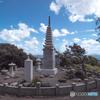 奉納山公園の阿國塔 (出雲)