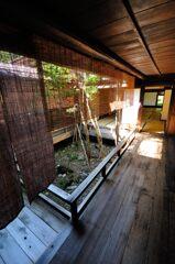 奈良井宿 町家の坪庭