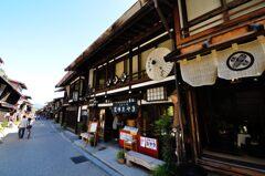 奈良井宿 町家のファサード