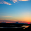 大井川の朝②