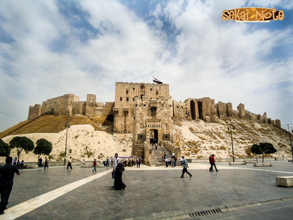 美しきアレッポ城,シリア