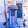 青い幻想,モロッコ
