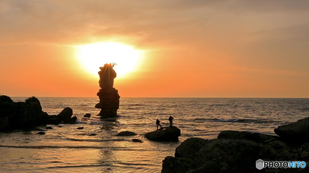 掛戸松島のローソク岩 by 素戔嗚...