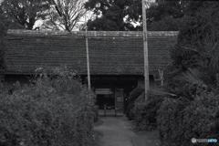 豪農の長屋門