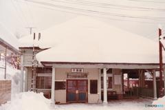 石勝線夕張駅
