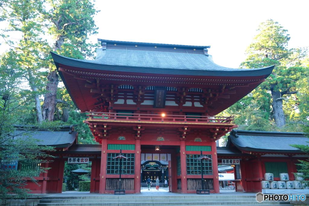 香取神宮・楼門