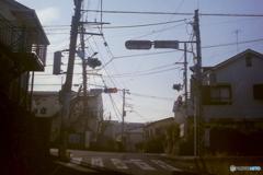 M君の家の前の交差点
