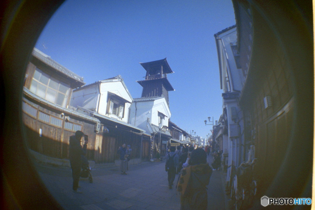 川越散歩 with FISHEYE ③