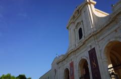 晴天の教会