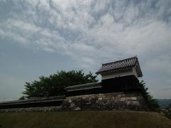 勝龍寺城の空