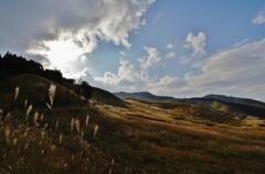 秋色の砥峰高原