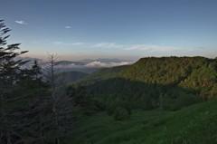 霧ヶ峰遠望