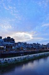 宵山の加茂川