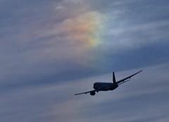 彩雲に飛ぶ
