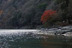 静かなり大堰川
