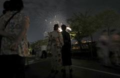 新潟祭り〜花火