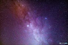 津軽富士見湖の星空