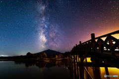 津軽富士見湖の夜に-Ⅲ
