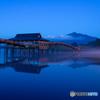津軽富士見湖の朝2018