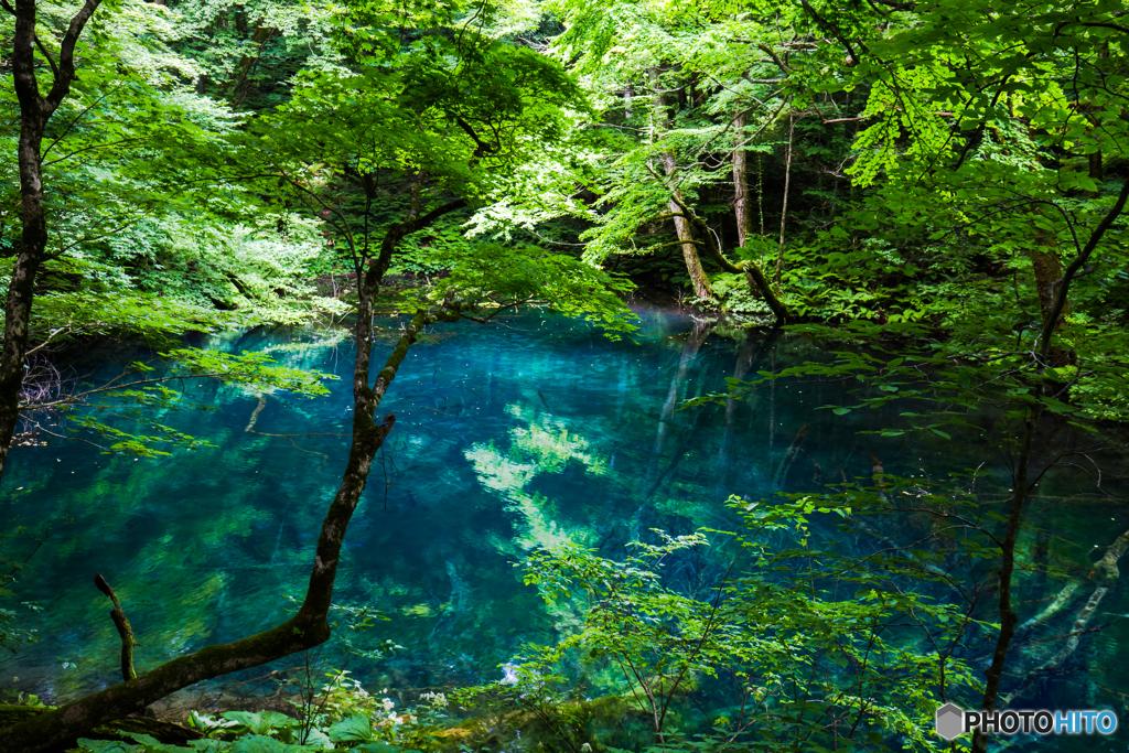 Natural blue-Ⅱ