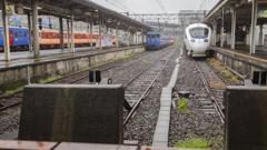 国鉄色列車が通ります まもなく移転 始発・終着駅長崎