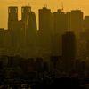 都市の夕景