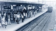 1974『 夏 西大寺駅 』