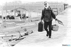 1972『 いつもの出漁準備 』