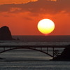 夕陽&架橋 Ⅴ