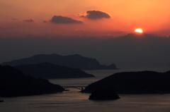 島の夕暮れⅡ