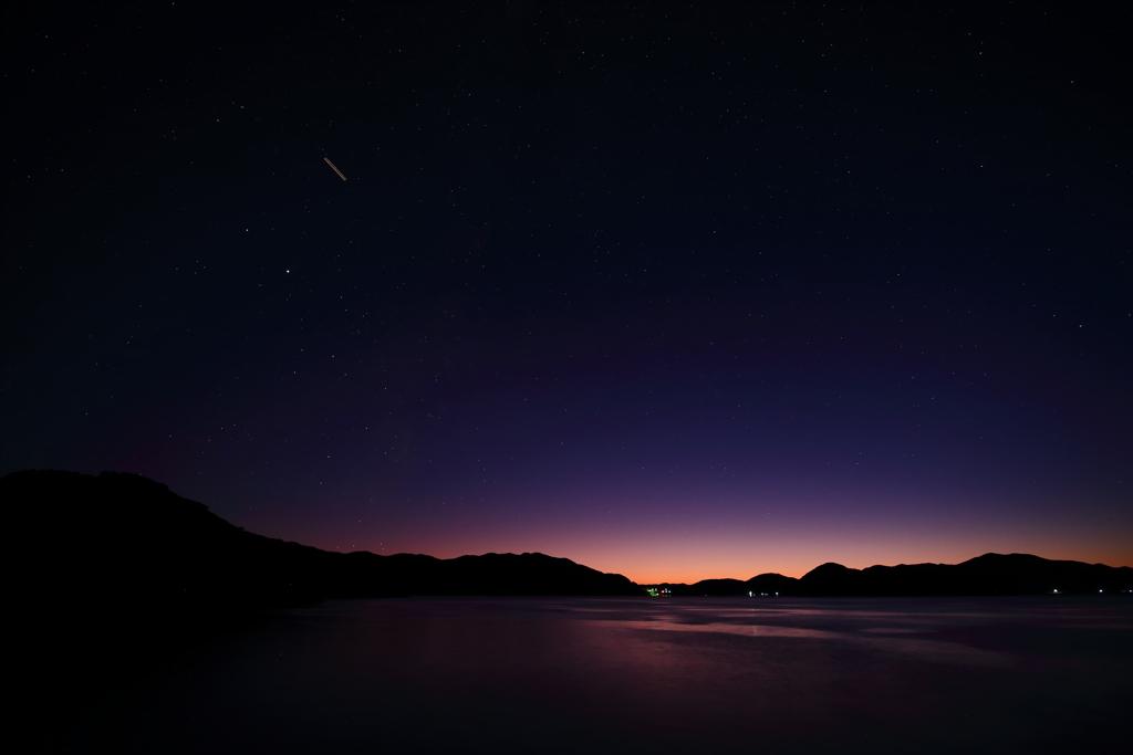 島の夕暮れ ⅰ