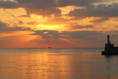 島の朝日 ⅳ