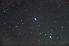 数十分の星空