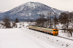 雪景色と鉄道①