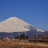 霊峰富士を背に受けて1