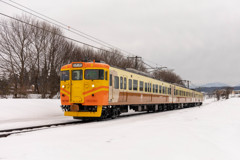 雪景色と鉄道②