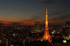 マジックアワーと東京タワー