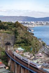 小田原の空と海と鉄道と②
