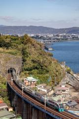 小田原の空と海と鉄道と③