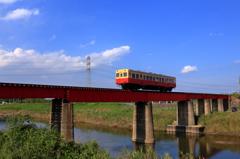 第一養老川橋梁を行く