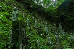 筑前岩屋 岩屋神社 五百羅漢