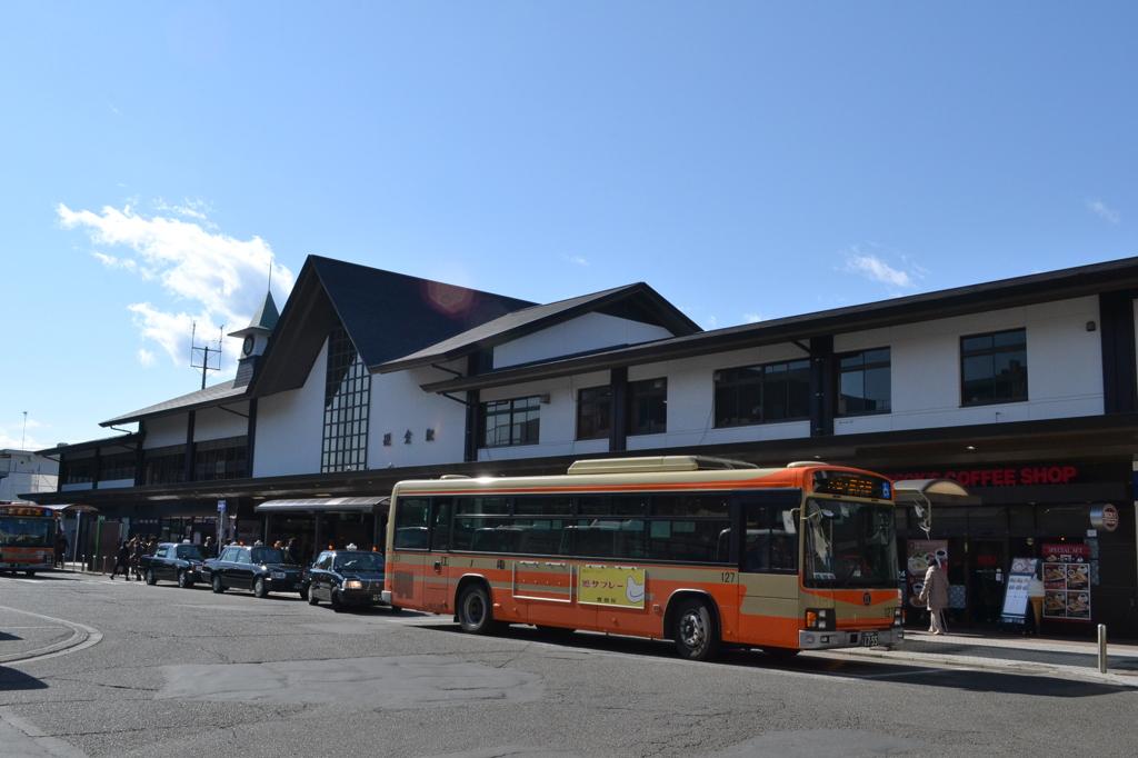鎌倉駅と江ノ電バス