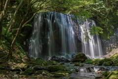 緑達沢不動滝