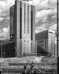 大阪駅再開発中